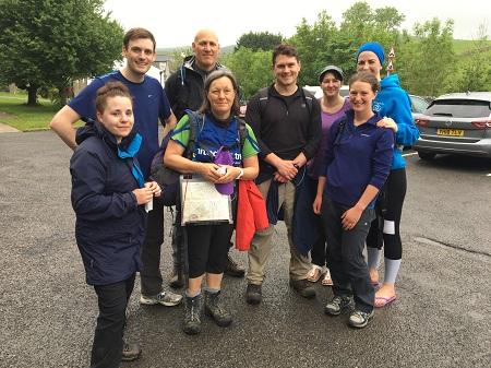 Harrison Drury team conquer Yorkshire Three Peaks
