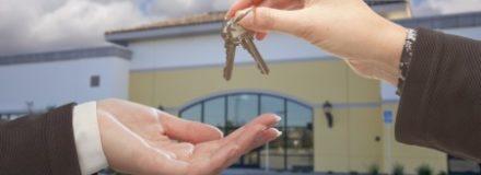 handing over of keys