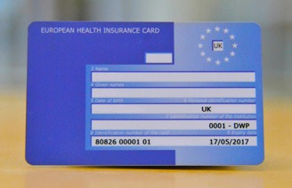 EU health card