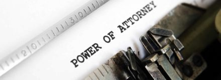 Lasting power of attorney typed