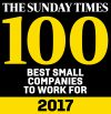 sunday times best 100 small companies to work for