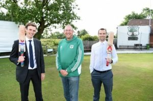 three men at fulwood and broughton cricket club