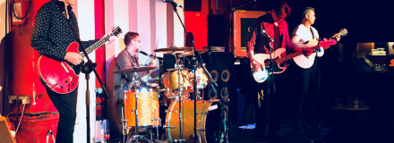 Harrison Fury - Harrison Drury solicitors' award winning rock band performing in London September 2018