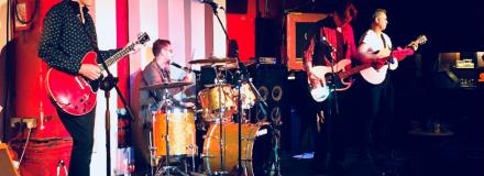 Harrison Fury - Harrison Drury solicitors' award winning rock band performing in London September 2018